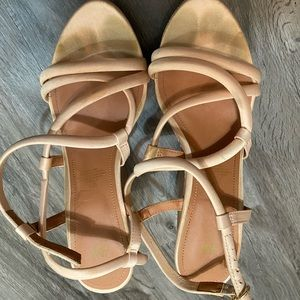 H&M strappy wedge